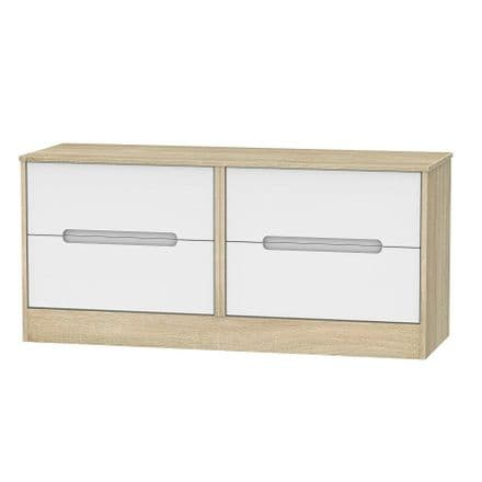 Monaco Natural 4 Drawer Bed Chest