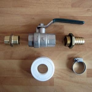 Tap Kit For Water/Fuel Tanks With ¾
