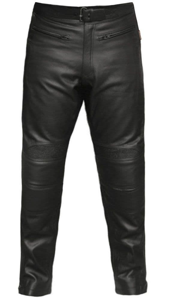 Leather Motorcycle Trousers|Biker Leather Trousers|Mens Jeans|LIMO
