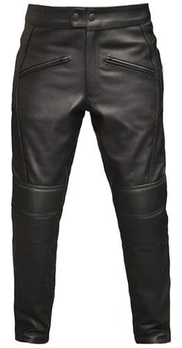 Motorcycle Leather Trousers| Biker Leather Jeans| Mens Jeans|MONZA