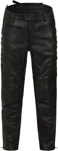 CE Armoured Leather Motorbike Trousers|Leather Biker Jeans|SPA