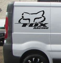 2 x  Fox Racing  Decals - Choice Of Colour