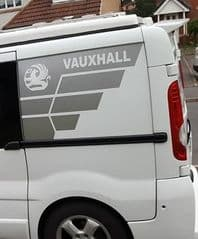 2 x  TVP Side Designs Choice Of Colour - Renault - Nissan or Vauxhall - SWB ONLY