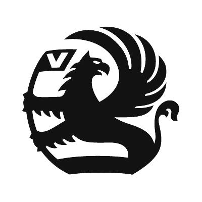 2x Vauxhall Logo Sticker - Choice Of Colour