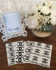 Chanel Sticker Selection