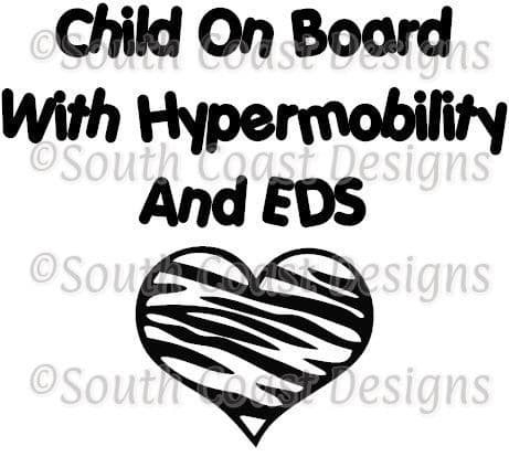 Child On Board With Hypermobility And Ehlers Danlos Syndrome