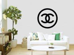 Coco Chanel Logo Wall Sticker