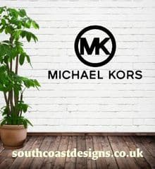 Michael Kors Logo  With Words Wall Sticker