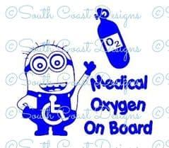 Minion Medical Oxygen On Board