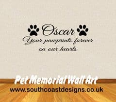 Pet Memorial Wall Art - Dog