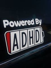 Powered By ADHD - Choice Of Colour