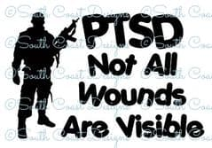 PTSD - Not All Wounds Are Visible