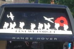 Rear Doors - Lest We Forget - Range Rover (All years And Models)