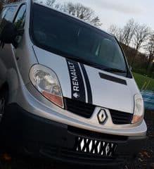 Renault Trafic Van 2 Stripe Sticker Set  Choice Of Colour