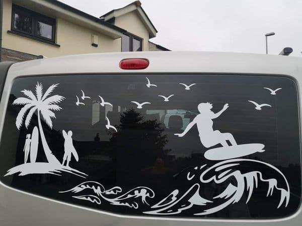 Surf Design - Fits Most Vans