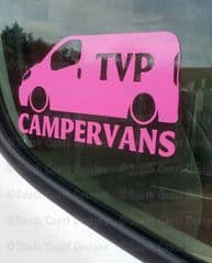 TVP CAMPERVANS Facebook Group Sticker - Design 1