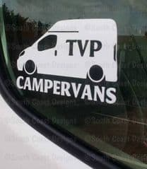 TVP CAMPERVANS Facebook Group Sticker - Design 1 With High Top