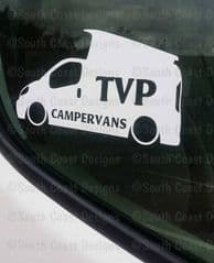 TVP CAMPERVANS Facebook Group Sticker - Design 2 With Pop Top
