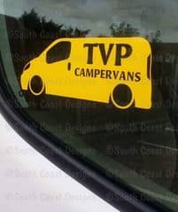 TVP CAMPERVANS Facebook Group Sticker - Design 3