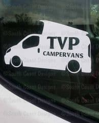 TVP CAMPERVANS Facebook Group Sticker - Design 3 With Pop Top