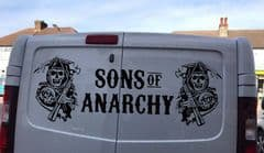 TVP Double Door - Sons Of Anarchy - Choice Of Colour