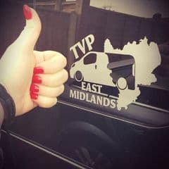 TVP East Midlands Facebook Group Sticker
