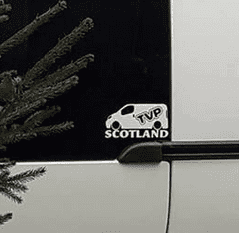 TVP  SCOTLAND Van Sticker