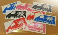 TVP WALES with Dragon Van Sticker - Facebook Group