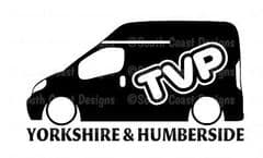 TVP Yorkshire & Humberside Facebook Group Sticker HIGH TOP