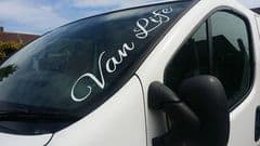 Van Life Windscreen Sticker - Choice Of Colour