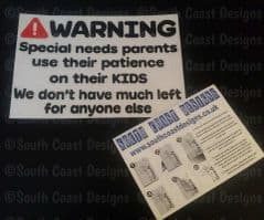 Warning Special Needs Parents Use Their Patience On Their Kids