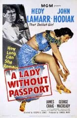 A Lady Without Passport 1950 DVD - Hedy Lamarr / John Hodiak