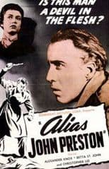 Alias John Preston 1955 DVD - Betta St. John / Alexander Knox