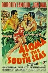 Aloma of the South Seas 1941 DVD - Dorothy Lamour / Jon Hall