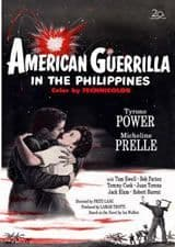 American Guerrilla in the Philippines 1950 DVD - Tyrone Power / Micheline Presle