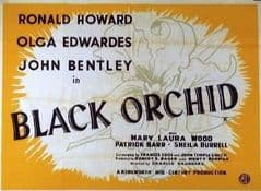 Black Orchid 1953 DVD - Ronald Howard / Olga Edwardes