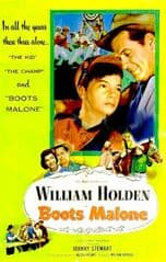 Boots Malone 1952 DVD - William Holden / Stanley Clements