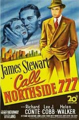 Call Northside 777 1948 DVD - James Stewart / Richard Conte