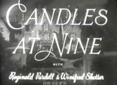 Candles at Nine 1944 DVD - Eliot Makeham / Beatrix Lehmann