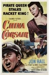 China Corsair 1951 DVD - Jon Hall / Lisa Ferraday