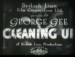 Cleaning Up 1933 DVD - George K. Gee / Betty Astell