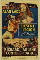 Desert Legion 1953 DVD - Alan Ladd / Richard Conte