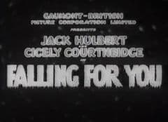 Falling for You 1933 DVD - Jack Hulbert / Cicely Courtneidge