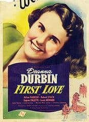 First Love 1939 DVD - Deanna Durbin / Robert Stack