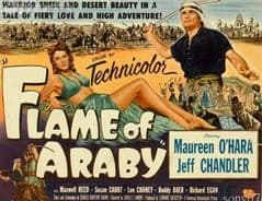 Flame of Araby 1951 DVD - Maureen O'Hara / Jeff Chandler