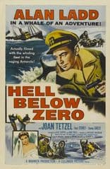 Hell Below Zero 1954 DVD - Alan Ladd / Joan Tetzel