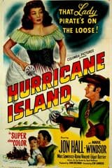 Hurricane Island 1951 DVD - Jon Hall / Marie Windsor