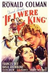 If I Were King 1938 DVD - Ronald Colman / Basil Rathbone