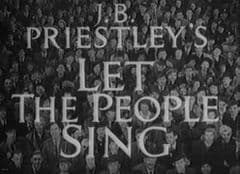 Let the People Sing 1942 DVD - Alastair Sim / Fred Emney