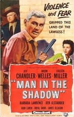 Man in the Shadow 1957 DVD - Jeff Chandler / Orson Welles